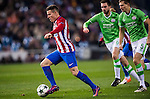 Kevin Gameiro of Atletico de Madrid in action during their 2016-17 UEFA Champions League match between Atletico de Madrid and PSV Eindhoven at the Vicente Calderón Stadium on 23 November 2016 in Madrid, Spain. Photo by Diego Gonzalez Souto / Power Sport Images