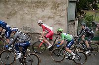 Green Jersey / points leader Mark Cavendish (GBR/Deceuninck - Quick Step) escorted up the Col de Portet-d'Aspet by his teammates in the grupetto.<br /> <br /> Stage 16 from El Pas de la Casa to Saint-Gaudens (169km)<br /> 108th Tour de France 2021 (2.UWT)<br /> <br /> ©kramon