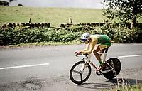 Ramunas Navardauskas (LIT)<br /> Elite Men Individual Time Trial<br /> from Northhallerton to Harrogate (54km)<br /> <br /> 2019 Road World Championships Yorkshire (GBR)<br /> <br /> ©kramon