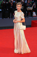 Laura Bailey attends the red carpet for the premiere of the movie 'The Danish Girl' during 72nd Venice Film Festival at Palazzo Del Cinema in Venice, Italy, September 5.<br /> UPDATE IMAGES PRESS/Stephen Richie