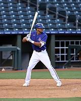 Bubba Thompson - Texas Rangers 2021 spring training (Bill Mitchell)