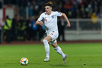 Declan Rice of England during the UEFA Euro 2020 Qualifying Group A match between Kosovo and England at Fadil Vokrri Stadium on November 17th 2019 in Pristina, Kosovo. (Photo by Daniel Chesterton/phcimages.com)<br /> Photo PHC Images / Insidefoto <br /> ITALY ONLY