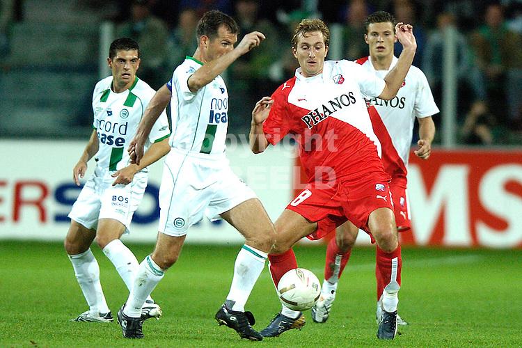 groningen - fc utrecht  eredivisie seizoen 2007-2008 14-09- 2007 broerse met matthijs