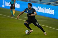 SAN JOSE, CA - SEPTEMBER 05: Vako Qazaishvili #11 during a game between Colorado Rapids and San Jose Earthquakes at Earthquakes Stadium on September 05, 2020 in San Jose, California.