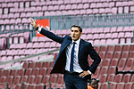 Coach Luis Ernesto Valverde Tejedor of FC Barcelona during the La Liga 2017-18 match between FC Barcelona and Las Palmas at Camp Nou on 01 October 2017 in Barcelona, Spain. (Photo by Vicens Gimenez / Power Sport Images