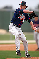 March 18, 2010:  Pitcher Blake Martin (48) of the Minnesota Twins organization during Spring Training at the Ft. Myers Training Complex in Ft. Myers, FL.  Photo By Mike Janes/Four Seam Images