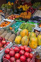 India, Dehradun.  Fruit Stand.