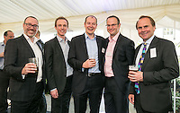 Pictured from left are Gareth John of Gateley Plc, James Robinson of LDC, ben Dawson of RBS, Stuart Grantham of HSBC and Mike Ward, CEO of Gateley Plc