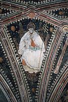 """Europe/France/Midi-Pyrénées/46/Lot/Vallée du Lot/Cahors: Cathédrale Saint-Etienne - Chapelle St-Gaubert - Peintures XVIème """"dignité ecclésiastique"""""""