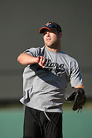 May 26, 2010: Mitch Hilligoss of the Bakersfield Blaze during game against the Inland Empire 66'ers at Arrowhead Credit Union Park in San Bernardino,CA.  Photo by Larry Goren/Four Seam Images