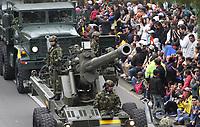 BOGOTÁ - COLOMBIA, 20-07-2019:Ejército Nacional.Desfile Militar por la Avenida 68 de la capital , durante el 209 Aniversario del Día de la Independiencia Nacional ./Military Parade through Avenida 68 in the capital, during the 209th Anniversary of National Independence Day. Photo: VizzorImage / Felipe Caicedo / Satff