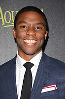 20 November 2014 - Los Angeles, California - Chadwick Boseman. Arrivals for HFPA/InStyle's Miss Golden Globes Announcement Party held at Fig & Olive in Los Angeles, Ca. Photo Credit: Birdie Thompson/AdMedia