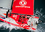 Dongfeng Race team for DFCV - HK HeliShoot 16Feb2014