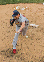 29 May 2016: St. Louis Cardinals pitcher Dean Kiekhefer on the mound against the Washington Nationals at Nationals Park in Washington, DC. The Nationals defeated the Cardinals 10-2 to split their 4-game series. Mandatory Credit: Ed Wolfstein Photo *** RAW (NEF) Image File Available ***
