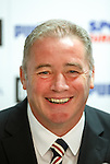 Ally McCoist at today's press conference