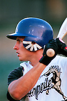Bubba Crosby of the San Bernardino Stampede participates in a minor league baseball game during the 1998 season at San Manuel Stadium in San Bernardino, California. (Larry Goren/Four Seam Images)