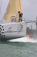 Ericsson Racing Team - VOLVO OCEAN RACE 2008-2009 start in Alicante, Spain, 11/10/2008