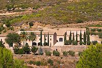 Winery building. Masia Duch. Priorato, Catalonia, Spain