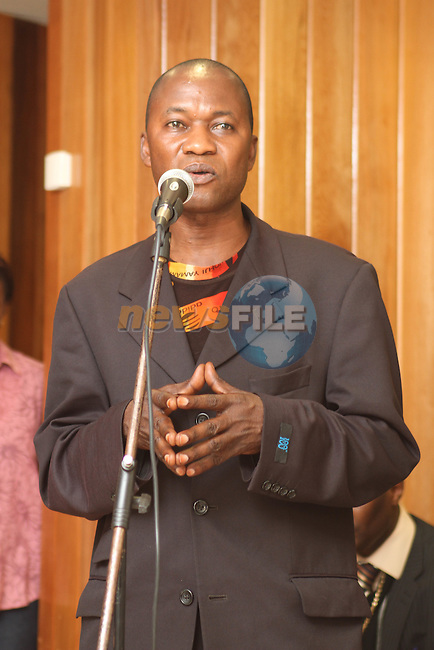Pierrot Ngadi, Chairperson of Congolese Anti-Poverty Network at the Launch of the Drug Awareness Leaflets by Acts of Compassion Ministries...Photo NEWSFILE/Jenny Matthews.(Photo credit should read Jenny Matthews/NEWSFILE)....This Picture has been sent you under the condtions enclosed by:.Newsfile Ltd..The Studio,.Millmount Abbey,.Drogheda,.Co Meath..Ireland..Tel: +353(0)41-9871240.Fax: +353(0)41-9871260.GSM: +353(0)86-2500958.email: pictures@newsfile.ie.www.newsfile.ie.FTP: 193.120.102.198.