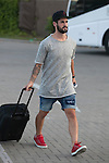Real Madrid´s Isco arrives at Soccer City training facility for a Spanish soccer team concentration meeting in Las Rozas, near Madrid, Spain. September  01, 2015. (ALTERPHOTOS/Victor Blanco)