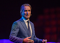 Rotterdam, Netherlands, December 16,  2017, Topsportcentrum,  KNLTB Jaarcongres,  Mark Koevermans kenode speaker<br /> Photo: Tennisimages/Henk Koster