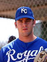 Mike Moustakas / Kansas City Royals 2008 Instructional League..Photo by:  Bill Mitchell/Four Seam Images