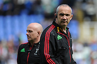 Conor O'Shea, Harlequins Director of Rugby, before the Aviva Premiership match between London Irish and Harlequins at the Madejski Stadium on Sunday 1st May 2016 (Photo: Rob Munro/Stewart Communications)