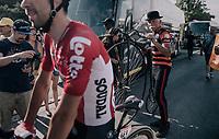 old vs. new<br /> <br /> 104th Tour de France 2017<br /> Stage 19 - Embrun › Salon-de-Provence (220km)