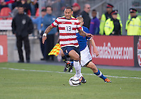03 June 2012: US Men's National Soccer Team midfielder  Jermaine Jones #13 in action during an international friendly  match between the United States Men's National Soccer Team and the Canadian Men's National Soccer Team at BMO Field in Toronto..The game ended in 0-0 draw...