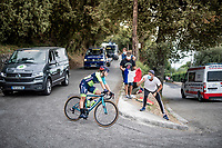 last rider <br /> <br /> 7th La Course by Tour de France 2020 <br /> 1 day race from Nice to Nice (96km)<br /> <br /> ©kramon