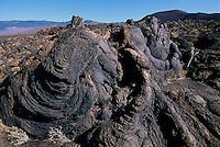 Spanien, Kanarische Inseln, El Hierro, El Lajial bei Restinga, Stricklava