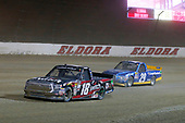 NASCAR Camping World Truck Series<br /> Eldora Dirt Derby<br /> Eldora Speedway, Rossburg, OH USA<br /> Wednesday 19 July 2017<br /> Noah Gragson, Switch Toyota Tundra and Chase Briscoe, Cooper Standard Ford F150<br /> World Copyright: Russell LaBounty<br /> LAT Images