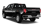 Car pictures of rear three quarter view of 2020 GMC Sierra-2500-HD SLT 4 Door Pick-up Angular Rear
