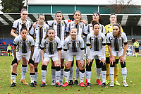 Charleroi team photo taken before a female soccer game between FC Femina White Star Woluwe and Sporting Charleroi on the 10 th matchday of the 2020 - 2021 season of Belgian Scooore Womens Super League , Saturday 19 th of December 2020  in Woluwe , Belgium . PHOTO SPORTPIX.BE | SPP | SEVIL OKTEM