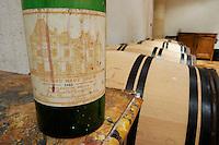 1988 soiled label chateau haut brion pessac leognan graves bordeaux france
