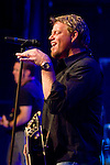 Country artist, Pat Green, performs live in concert.