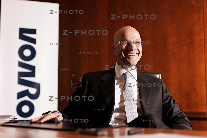 Interview mit Thomas Limberger, CEO Von Roll Schweiz in Zuerich am 18. Maerz 2010..Copyright © Zvonimir Pisonic