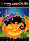 Janet, CUTE ANIMALS, halloween, paintings+++++,USJS402,#ac#
