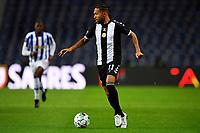 20th December 2020; Dragao Stadium, Porto, Portugal; Portuguese Championship 2020/2021, FC Porto versus Nacional; Kenji Gorré of Nacional comes forward on the ball