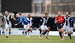03.11.18 St Mirren v Rangers: Ryan Kent and Ethan Erahon