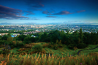 Glasgow and the Campsie Fells from Cathkin Braes, Glasgow