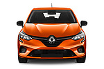 Car photography straight front view of a 2020 Renault Clio Edition One 5 Door Hatchback
