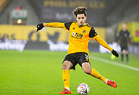 8th January 2021; Molineux Stadium, Wolverhampton, West Midlands, England; English FA Cup Football, Wolverhampton Wanderers versus Crystal Palace; Rayan Ait Nouri of Wolverhampton Wanderers crossing the ball into the Palace box
