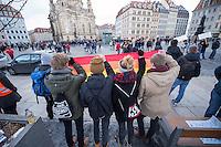 2015/02/08 Dresden | Pegida-Abspaltung Direkte Demokratie fuer Europa DDfE