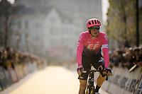 Sep Vanmarcke (BEL/EF Education First) returning from sign-on<br /> <br /> 103rd Ronde van Vlaanderen 2019<br /> One day race from Antwerp to Oudenaarde (BEL/270km)<br /> <br /> ©kramon