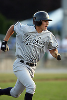 July 9th 2007:  Matt Morris of the Staten Island Yankees, Class-A affiliate of the New York Yankees, at Dwyer Stadium in Batavia, NY.  Photo by:  Mike Janes/Four Seam Images