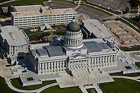 aerial photograph of the Utah State capitol building, Salt Lake City, Utah