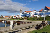 Hafen von Timmendorf auf der Insel Poel, Mecklenburg-Vorpommern, Deutschland