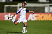 Stephanie Breitner of ACF Fiorentina in action during the women Serie A football match between AS Roma and ACF Fiorentina at Tre Fontane Stadium in Roma (Italy), November 7th, 2020. Photo Andrea Staccioli / Insidefoto