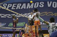 Campinas (SP), 12/03/2021 - Superliga de Volei - Partida entre Volei Renata (SP) e Azulim/Gabarito/Uberlandia (MG), nesta sexta-feira (12) valido pelas quartas de final da Superliga Banco do Brasil masculina de Volei 2020/2021, realizado no Ginasio do Taquaral na cidade de Campinas, interior de Sao Paulo.. Foto: Denny Cesare/Codigo 19 (Foto: Denny Cesare/Codigo 19/Codigo 19)